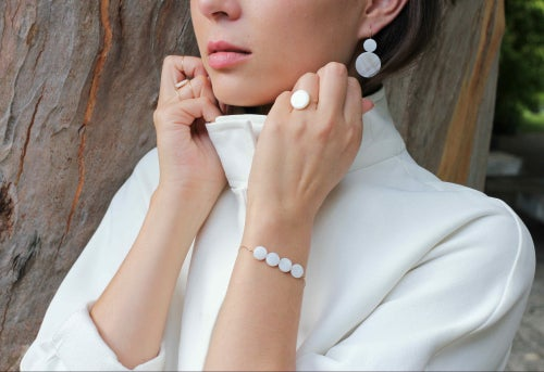 Image of Bracelet Daughter-of-pearls