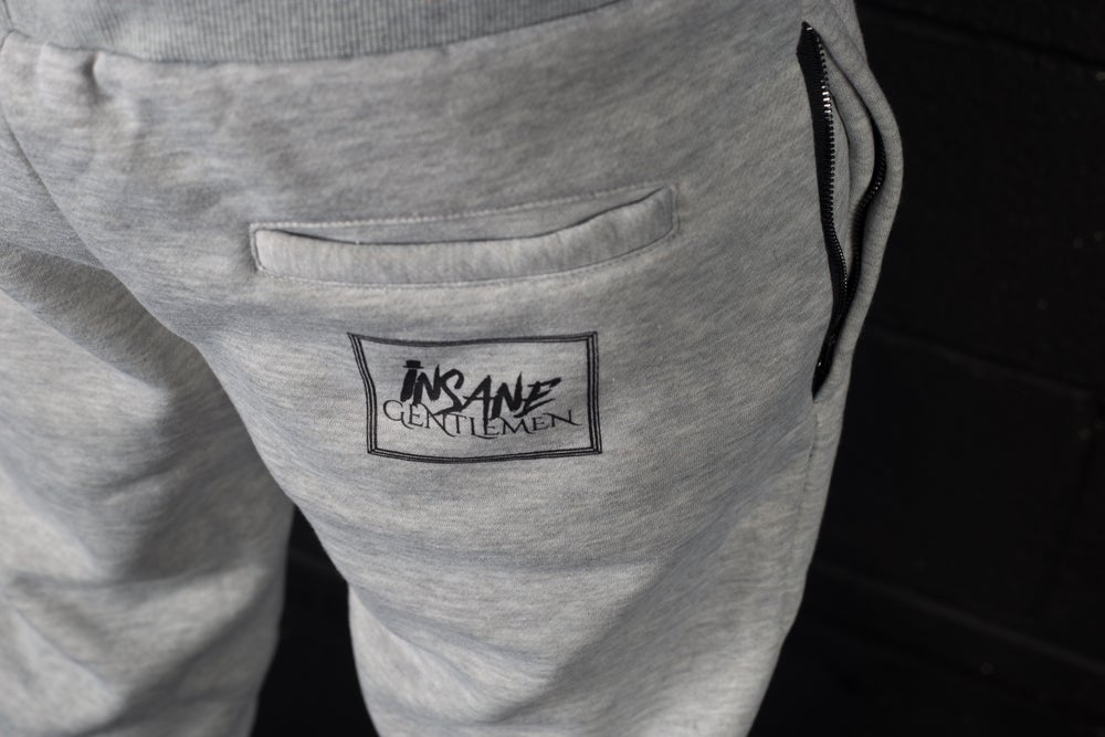 Image of Insane Gentlemen Tracksuit Bottoms Grey