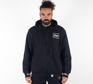 Image of Insane Gentlemen Zip Up Hoodie BluRay-Black