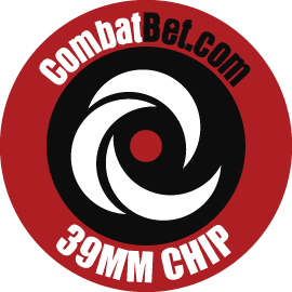 "Image of 39mm (1.5"") Custom CombatBet Chips - Minimum Order is 100 Chips"