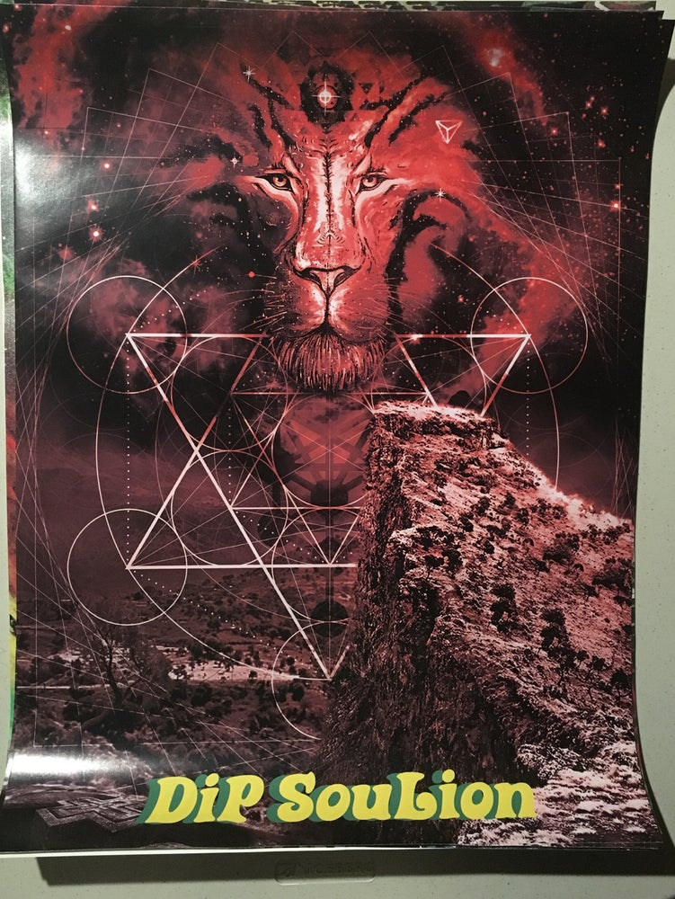 Image of Celestial Lion poster