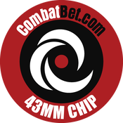 "Image of 43mm (1.7"") Custom CombatBet Chips - Minimum Order is 100 Chips"