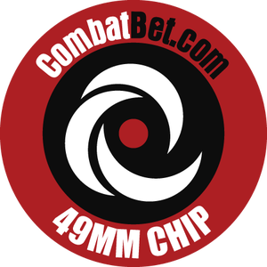 "Image of 49mm (1.9"") Custom CombatBet Chips - Minimum Order is 50"