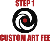 Image of Full Custom Art Fee - Step 1