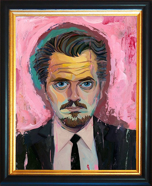 Image of Reservoir Dogs Mr. Pink Original Painting