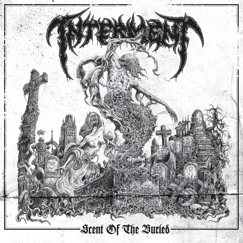 "Image of INTERMENT ""Scent Of The Buried"" CD"