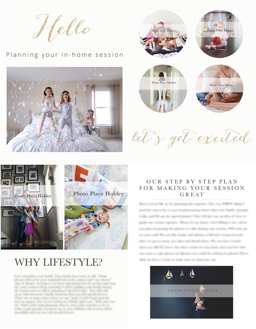 Image of The Family Lifestyle In home Prep guide