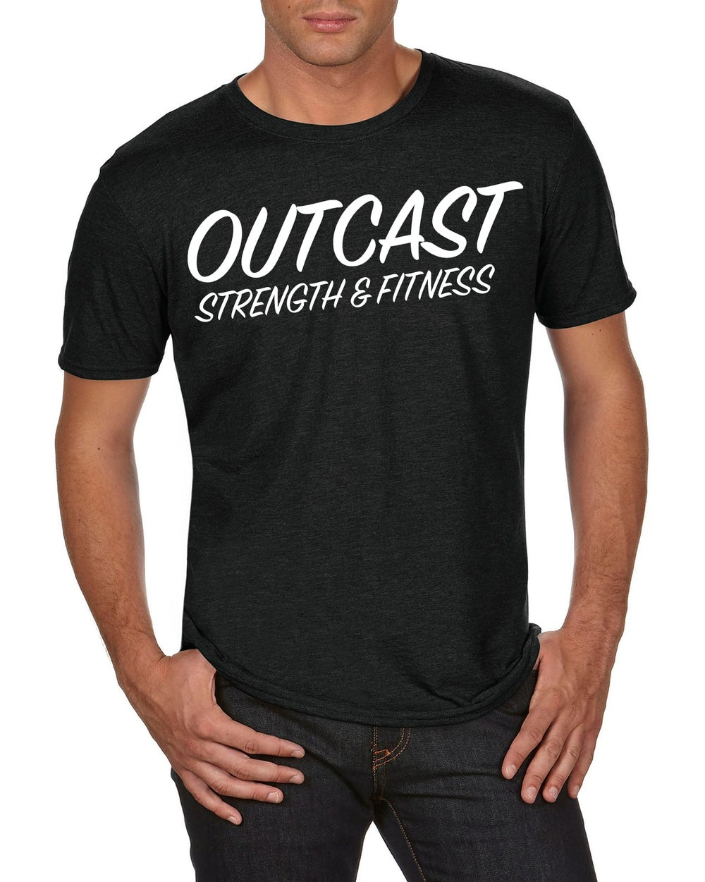 Image of Outcast Crew shirt & mug