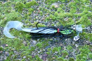 Image of Angel bait (5 inch single curl tail)