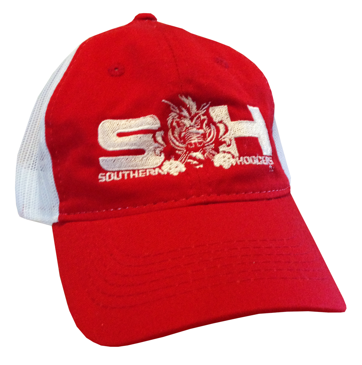 Image of SH Red Snapback Mesh Hat