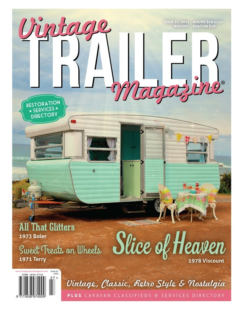 Image of Issue 27 Vintage Trailer Magazine