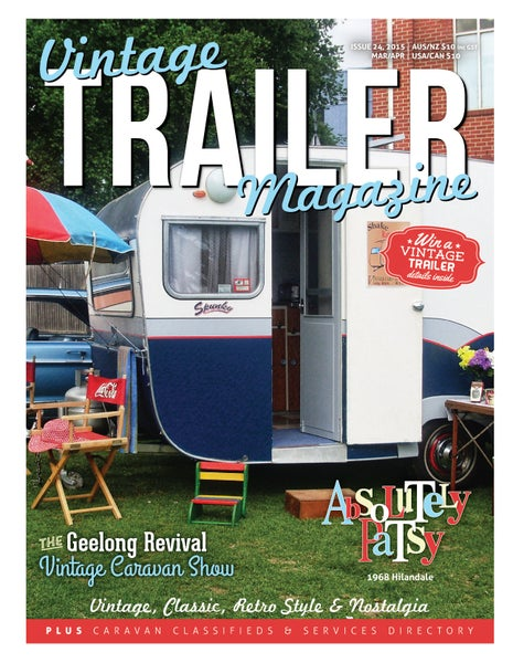 Image of Issue 24 Vintage Trailer Magazine