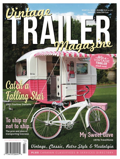 Image of Issue 23 Vintage Trailer Magazine