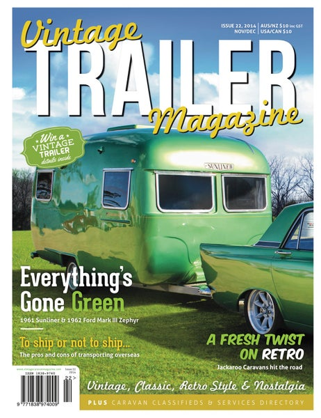 Image of Issue 22 Vintage Trailer Magazine