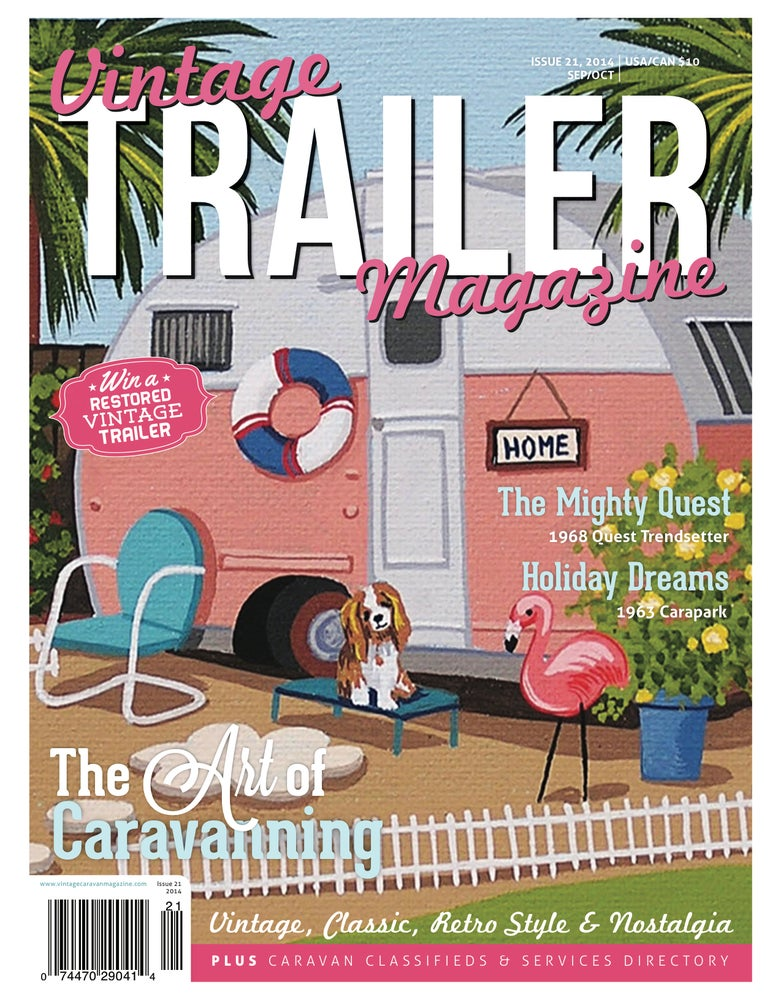 Image of Issue 21 Vintage Trailer Magazine
