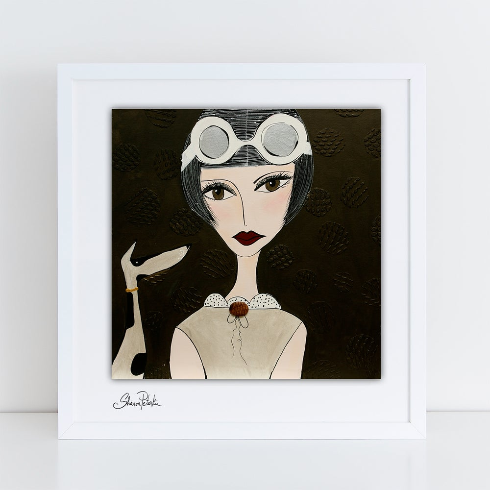 Image of Aviator Audrey PRINT