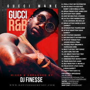Image of GUCCI R&B MIX (GUCCI MANE R&B COLLABORATIONS)