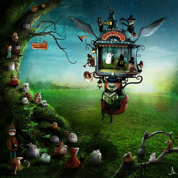 The Mobile Storyteller Theatre - Alexander Jansson Shop