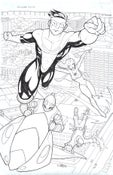 Image of Invincible #32 Pin-Up Art