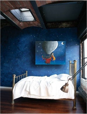 Image of I Looked To The Moon PRINT