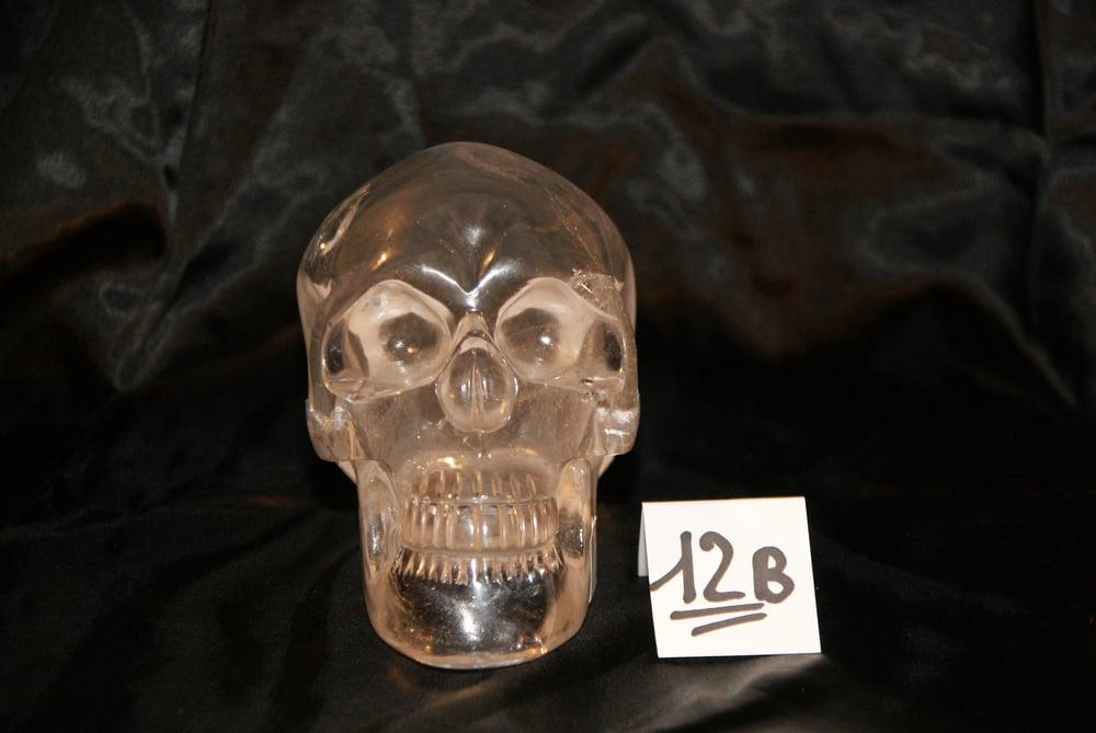 Image of Crâne Cristal de Quartz Clair 1,550 kg