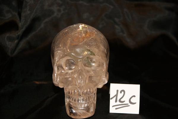 Image of Crâne Cristal de Quartz Clair 1,325 kg