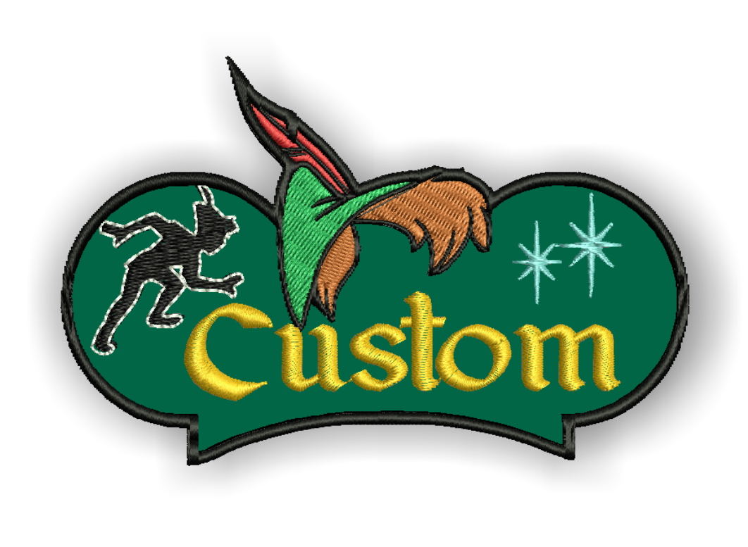 Image of Pan Custom Iron-on Patch With Name