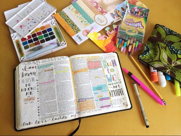Image of Online Bible Journaling Class