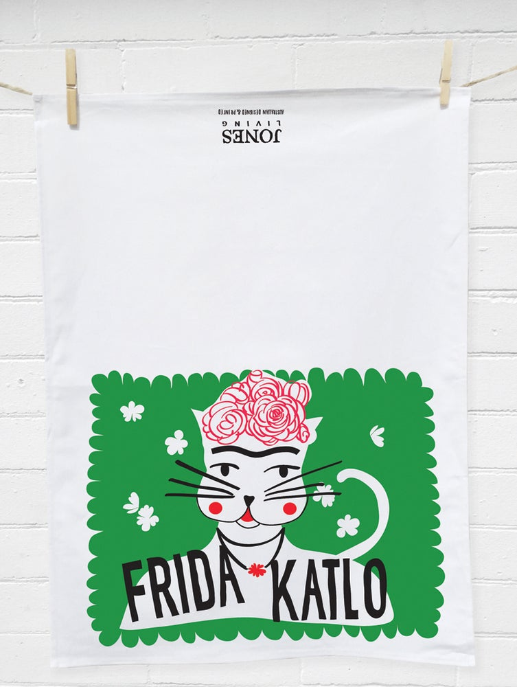 Image of FRIDA KATLO Tea Towel