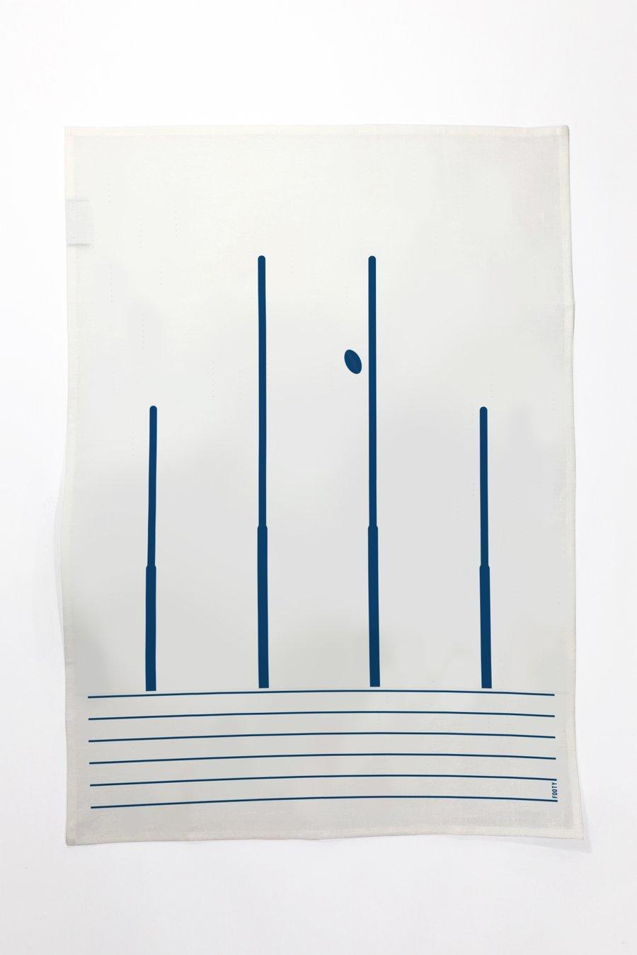 Image of Footy - Tea Towel