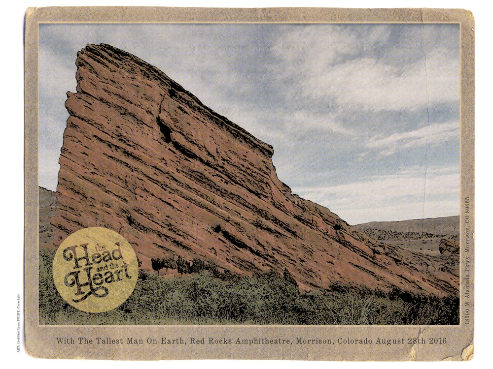 Image of The Head and the Heart, Red Rocks