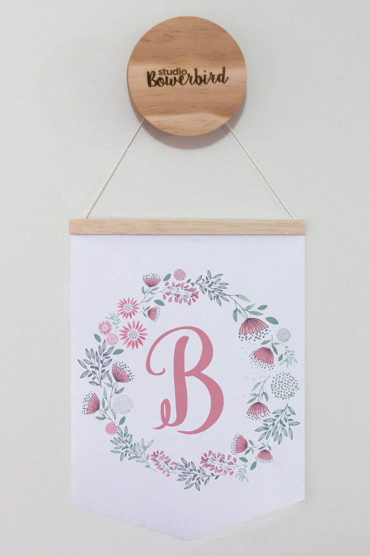 Image of Floral Letter   banner