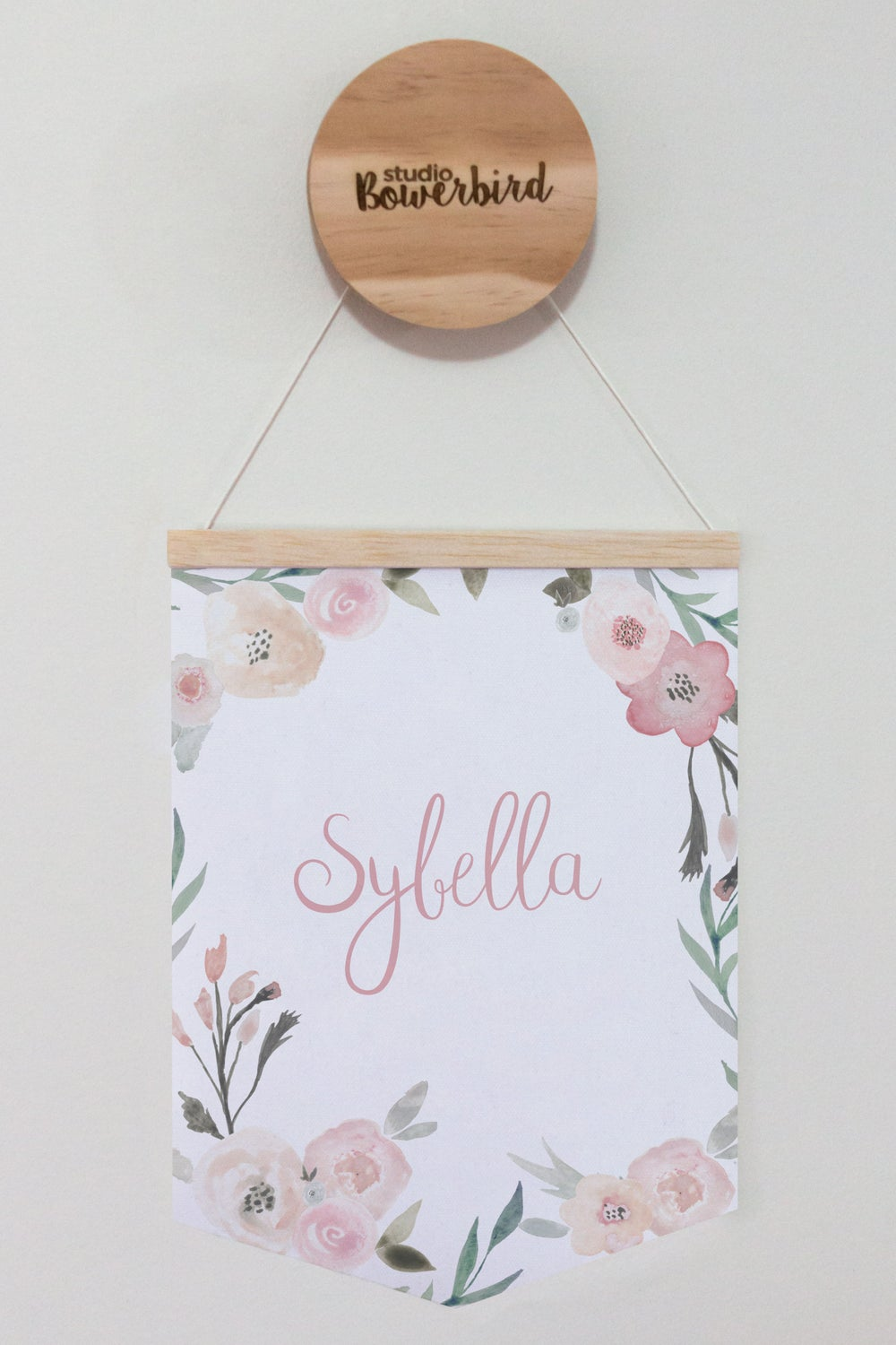 Image of Floral name | banner