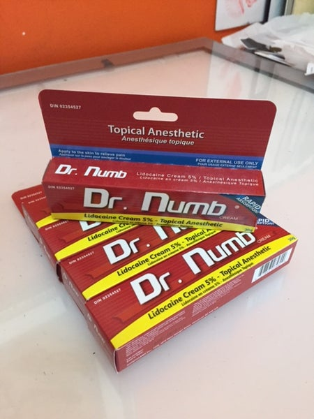 Image of DR NUMB - Anestheic Numbing Cream (30g)