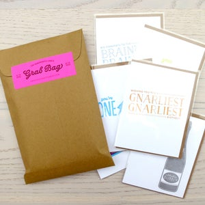 Image of greeting card grab bag