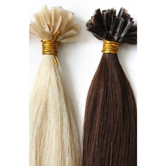 Keratin U Tip Premium 100 Remy Hair Extensions Luxotic Boutique
