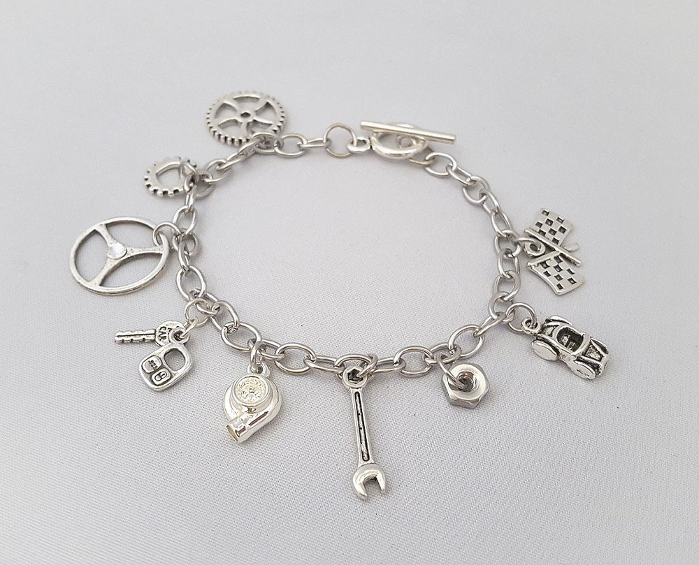 Image of Car Part Charm Bracelets