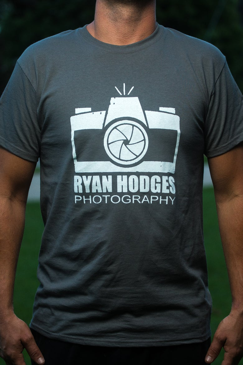 Image of Hodges Camera T-shirt Charcoal Grey