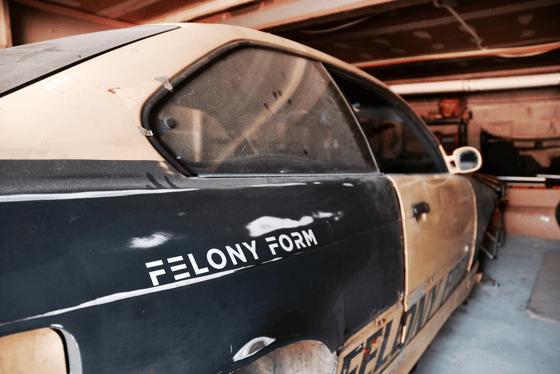 Image of FELONY FORM sticker