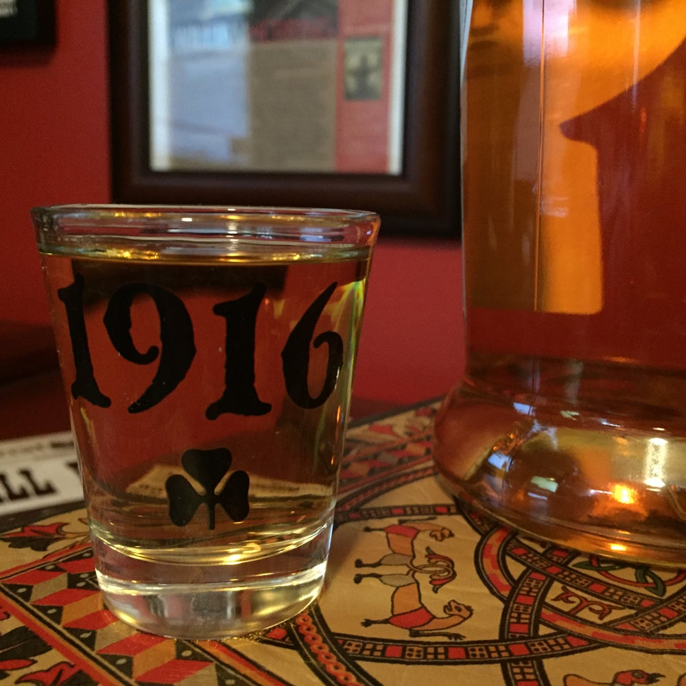 "Image of 1916 ""Original Logo"" shot glass"