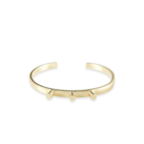 Image of Crown Gold Bracelet
