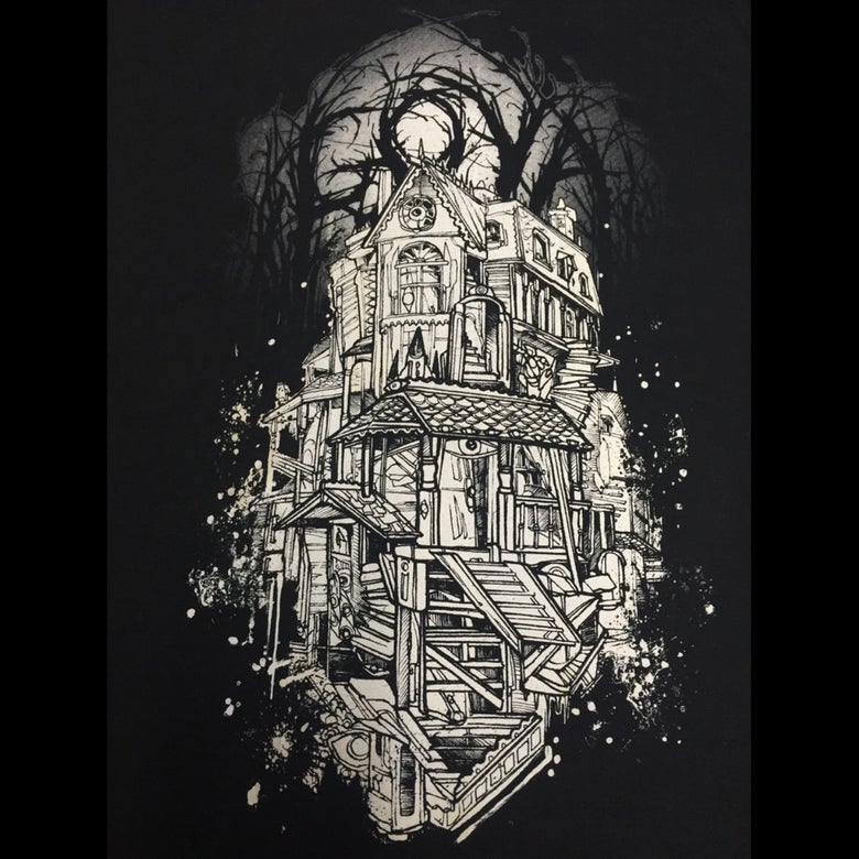 Image of Haunted House t-shirt