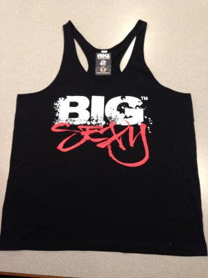 Image of B.I.G. SEXY – ATHLETIC T-BACK SINGLET