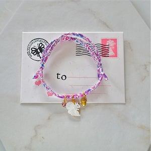 Image of Squirrel Liberty print bracelet