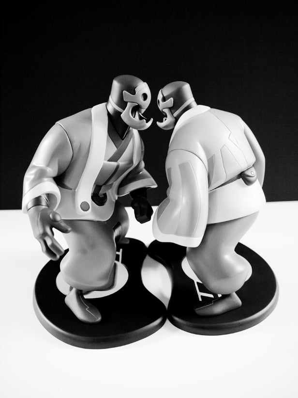 Image of Kuta (Gray) Collectible Vinyl Toy