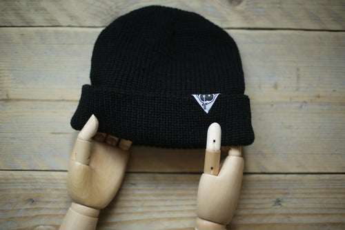 Image of Monkey Climber Cousteau beanie I Black - Navy