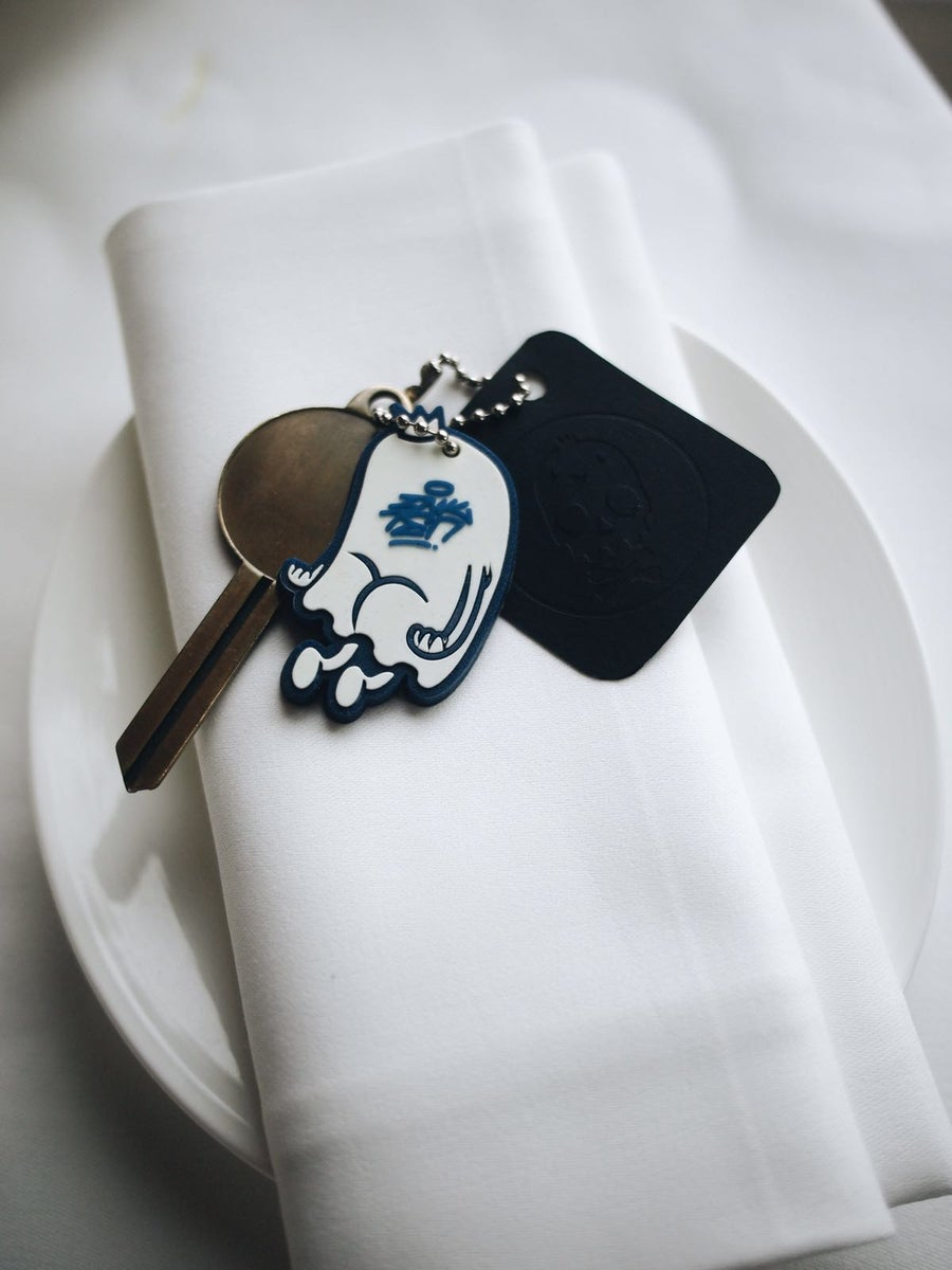 Image of Hollow Ghost Keychain