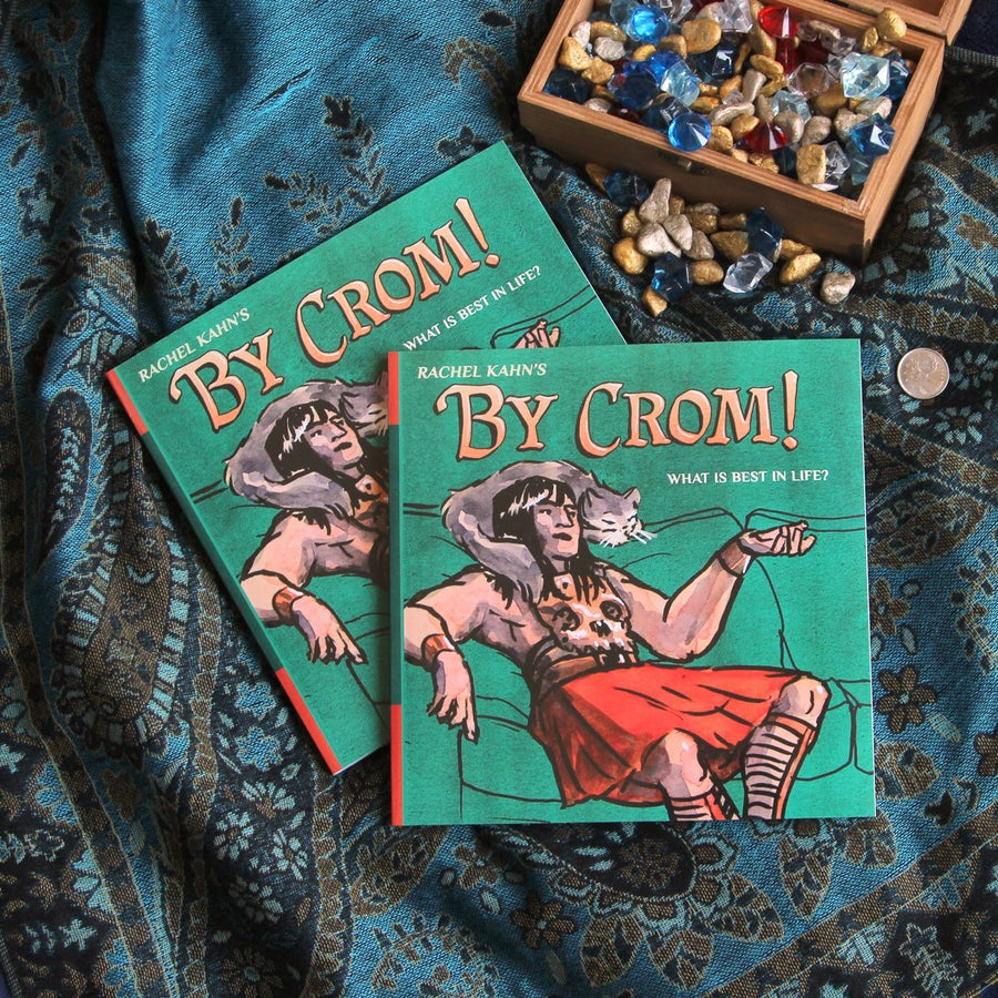Image of <em>By Crom!</em> - the autobio comic with a barbarian edge!