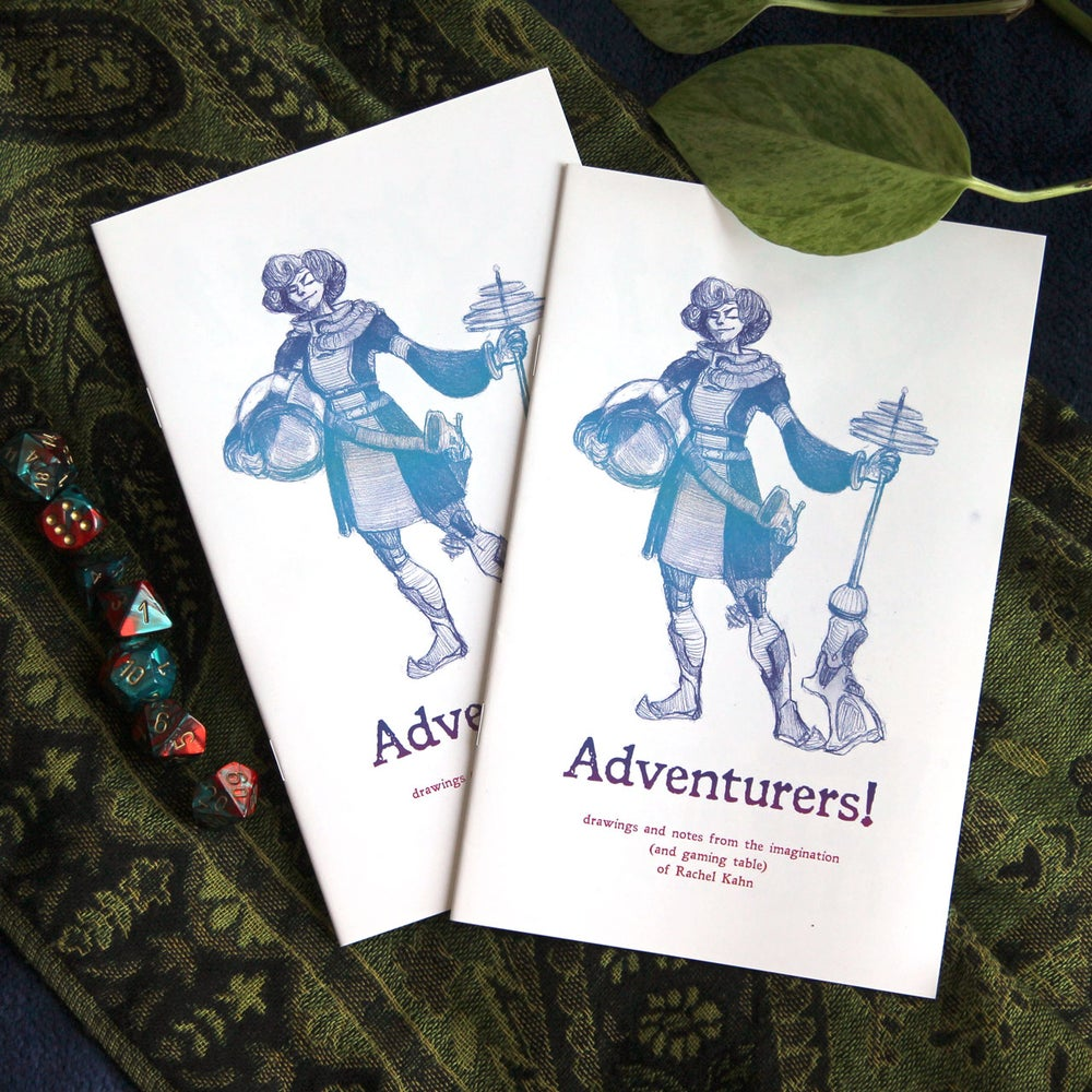 Image of Adventurers - a sketchbook of characters!