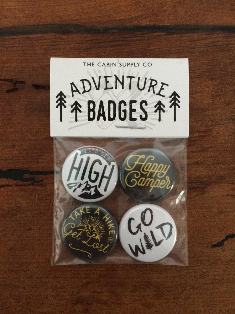 Image of Adventure badge pack